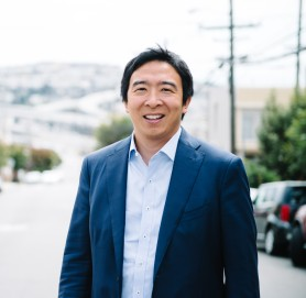 Andrew Yang - Official Campaign Headshot (photo by Clara Lu)